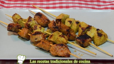 pinchos morunos o pinchitos